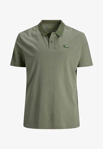Polo shirt - deep lichen green