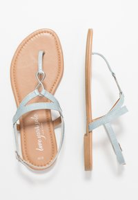 New Look - HOOPER - Flip Flops - mid blue - 1