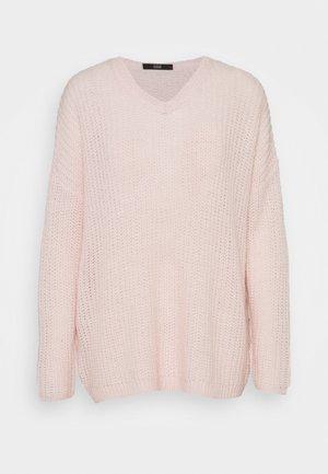 MALIBU V-NECK BEACH  - Svetr - soft rose