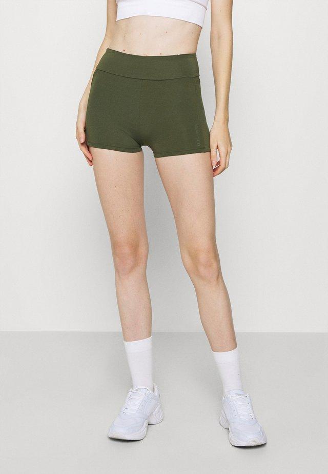MID RISE - Leggings - green