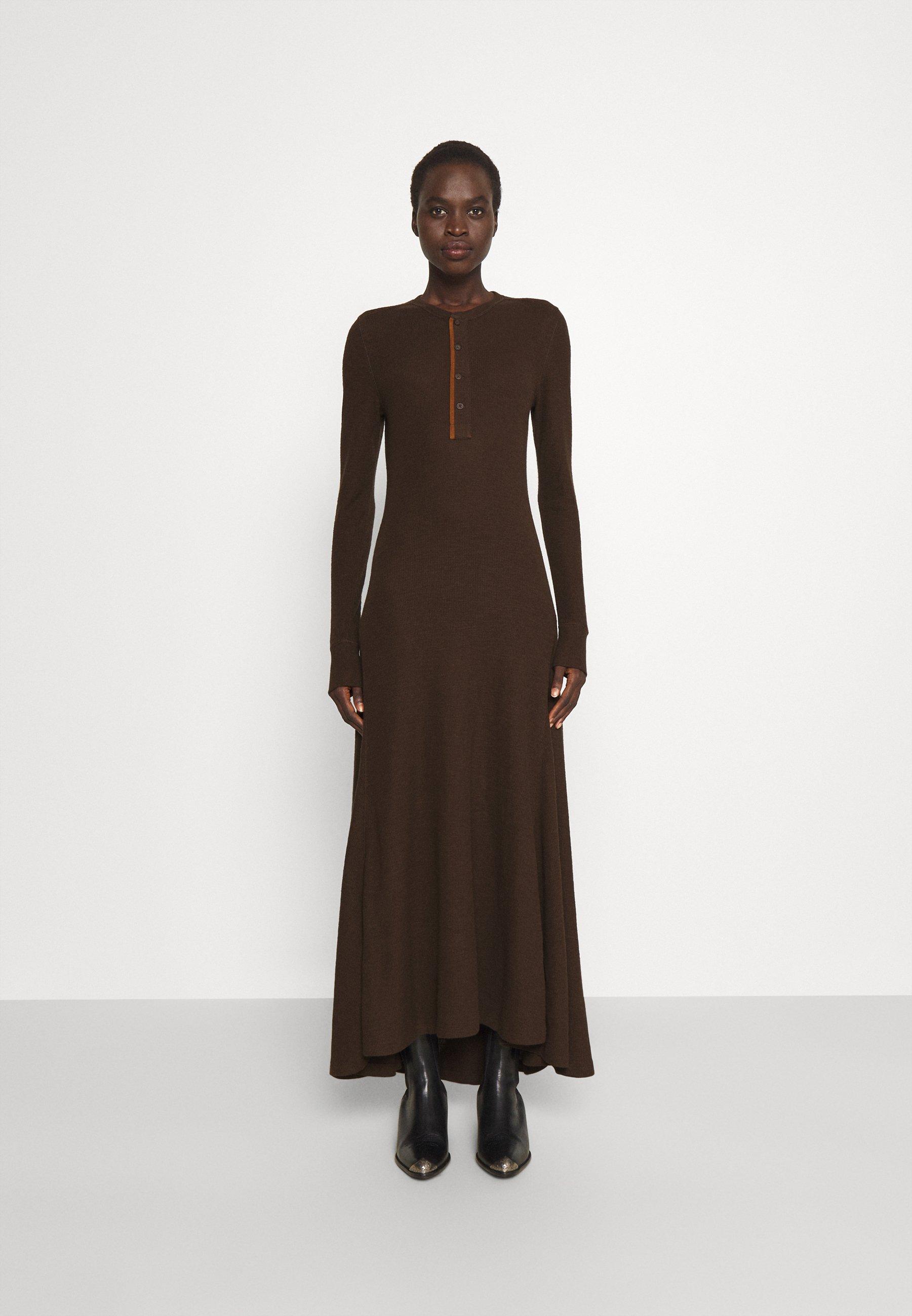 Mujer LONG SLEEVE DAY DRESS - Vestido largo