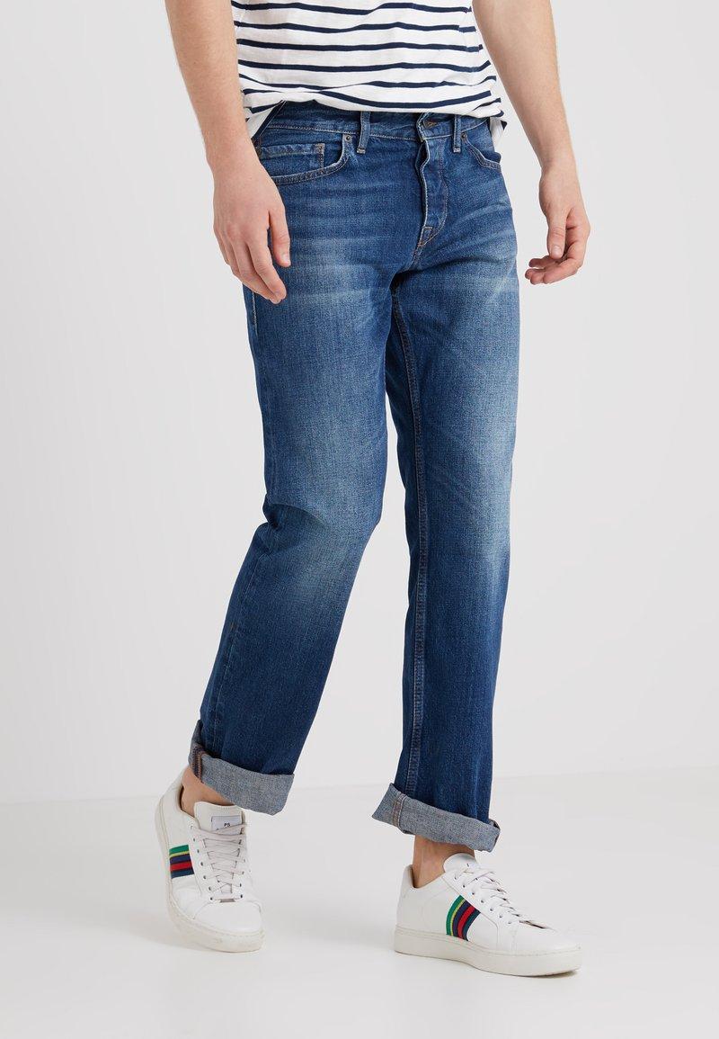 BOSS CASUAL - Straight leg jeans - medium blue