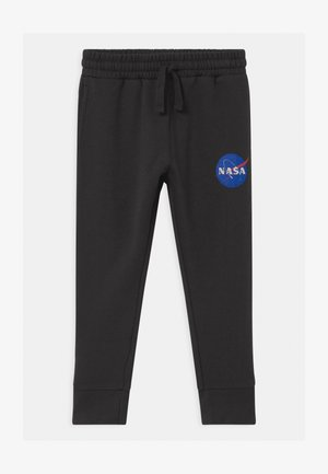 NASA LICENSE SLOUCH  - Pantalones deportivos - black