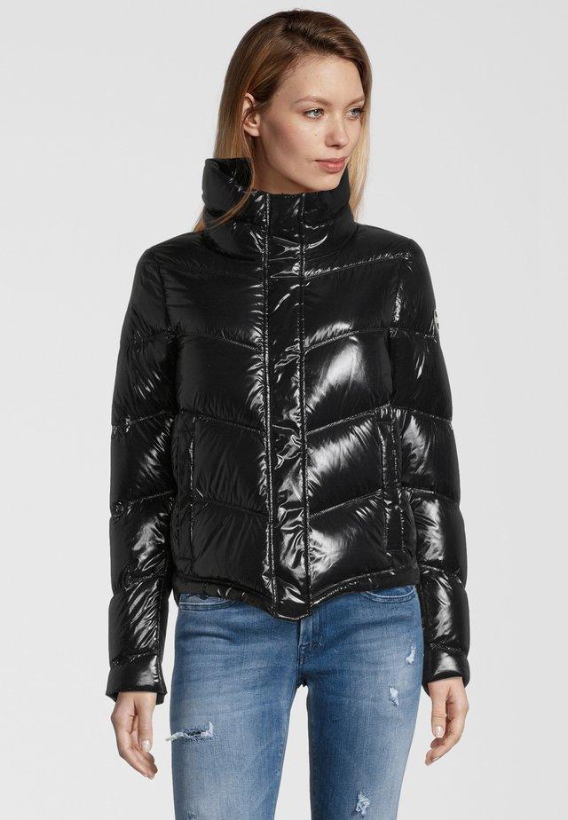 MIT STEHKRAGEN - Down jacket - black
