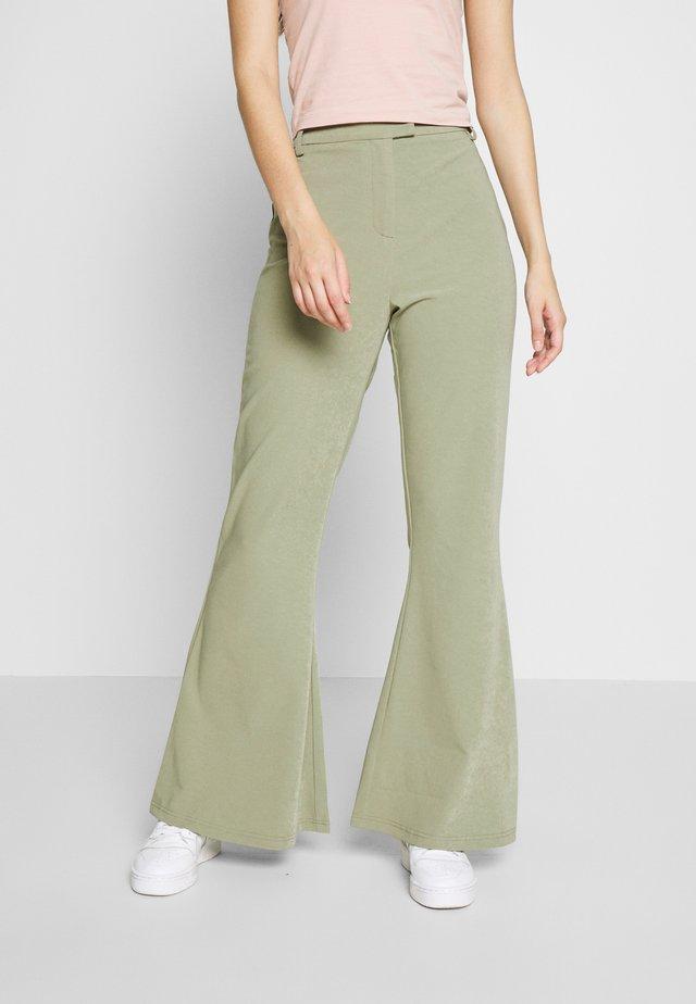 RACHIE TROUSER - Spodnie materiałowe - sage