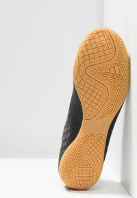 adidas Performance - NEMEZIZ 19.4 IN - Indoor football boots - core black/utility black - 4