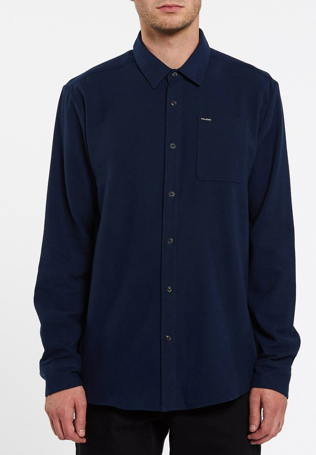 CADEN SOLID L/S - Chemise - navy