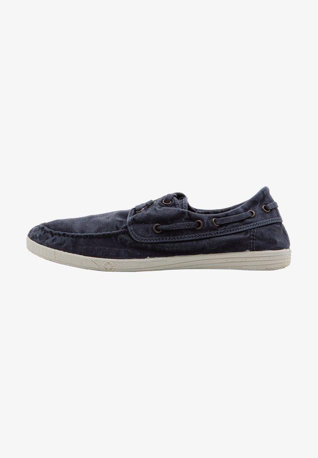 Zapatos con cordones - marino enz