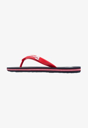 Pool shoes - blue/red