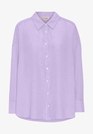 SONJA - Button-down blouse - lavender