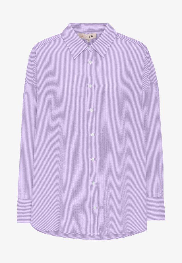 SONJA - Skjortebluser - lavender