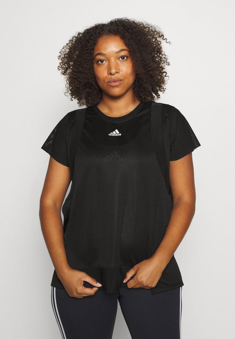 adidas Performance - TEE  - Basic T-shirt - black
