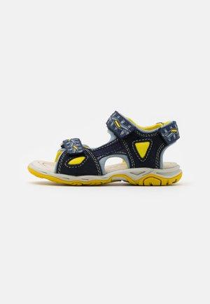 LEATHER - Chodecké sandály - dark blue