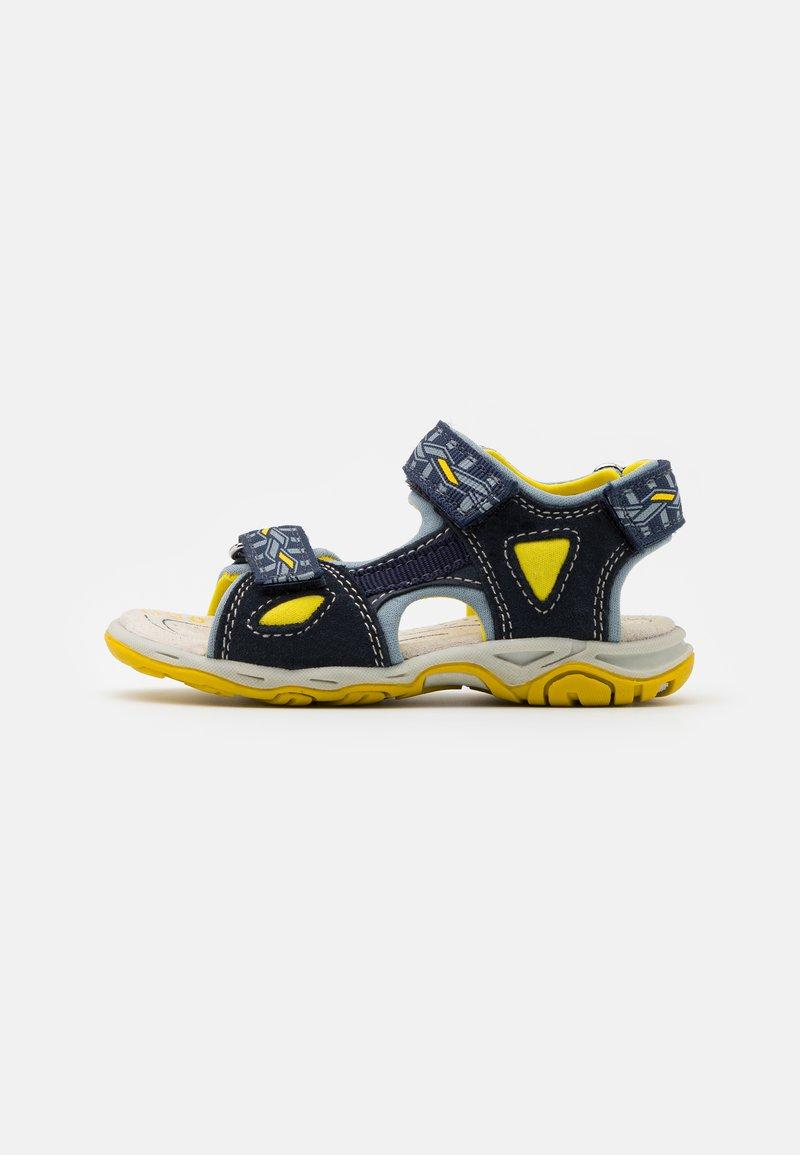 Friboo - LEATHER - Walking sandals - dark blue