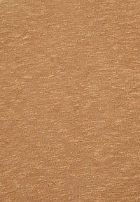 Anna Field - TOP-LINEN BLEND - Topper - brown - 2