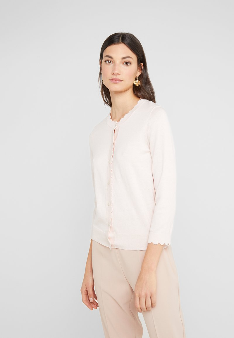 kate spade new york - SCALLOP - Cardigan - pink sand