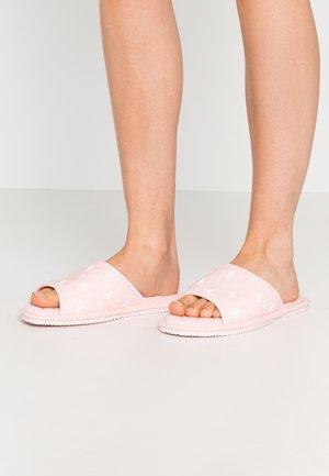 ANTERO - Pantofole - light pink/offwhite