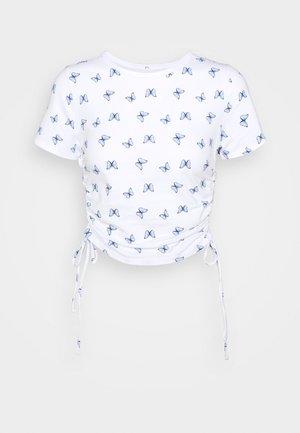 TEE CHAIN - Print T-shirt - white floral