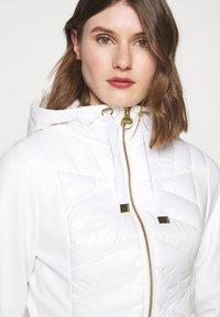 Barbour International - SPITFIRE - Light jacket - optic white - 3