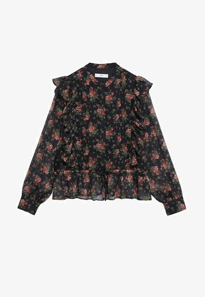 MAURA - Button-down blouse - czerwony