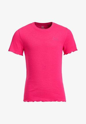 SLIM FIT  - T-shirts basic - pink