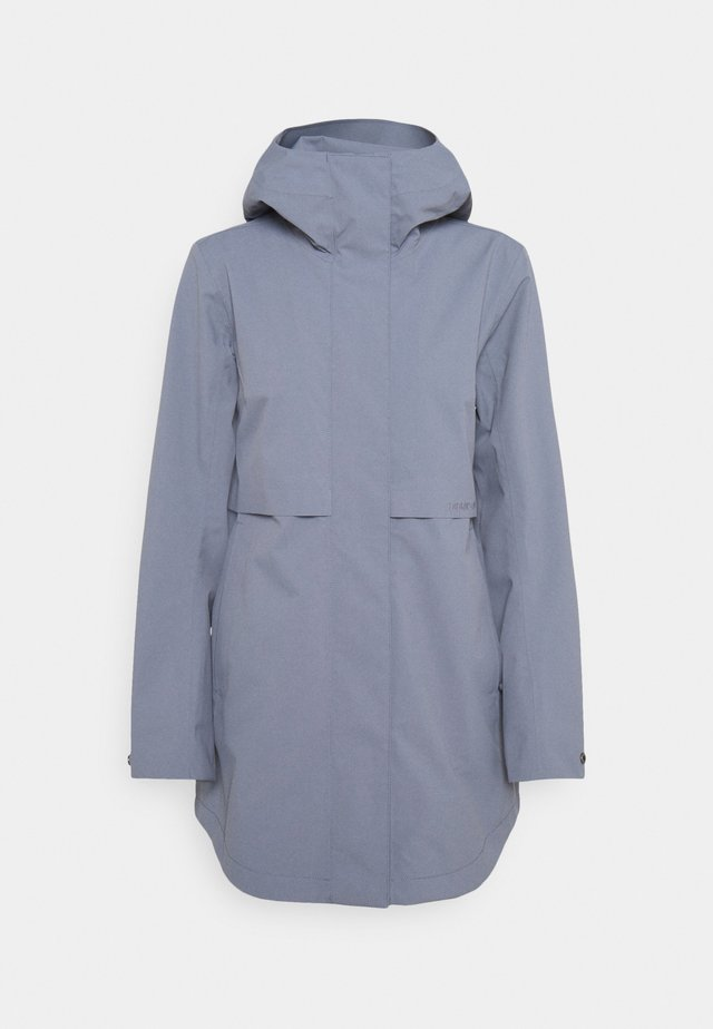 EDITH - Waterproof jacket - foggy blue