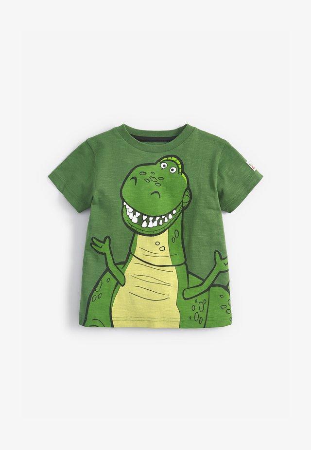 DISNEY TOY STORY REX SPIKES  - T-shirt imprimé - green