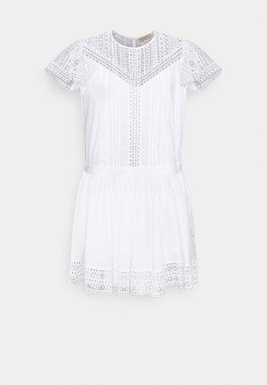 ABITO CON SOTTOVESTE  - Robe d'été - bianco ottico