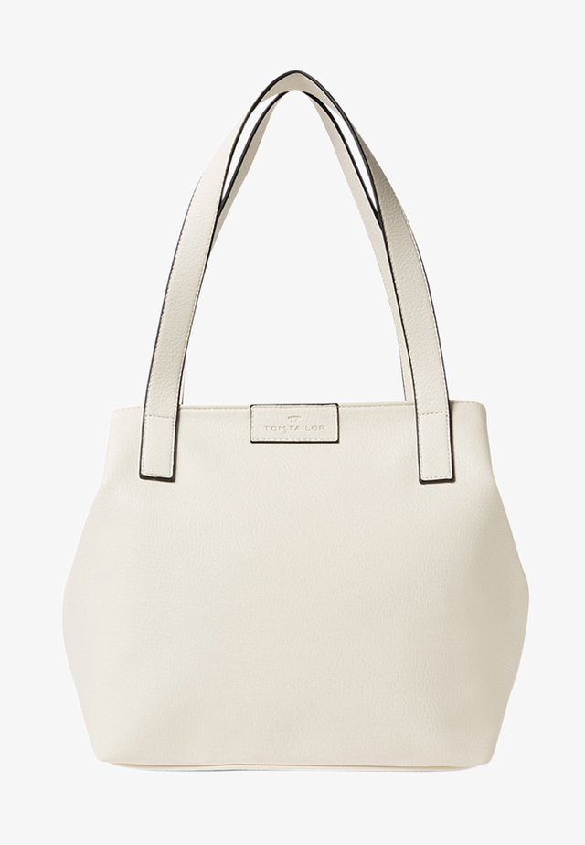 MIRI ZIP  - Tote bag - white