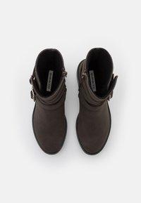 Even&Odd - Winter boots - dark brown - 5