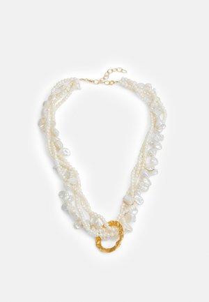 FULL MOON TANGLED NECKLACE - Náhrdelník - gold-coloured