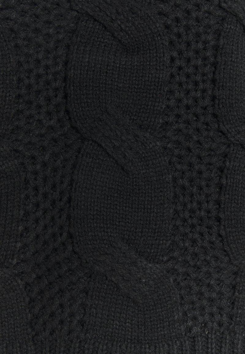 JDY JDYJULIA CABLE - Strickpullover - black/schwarz B5NHst