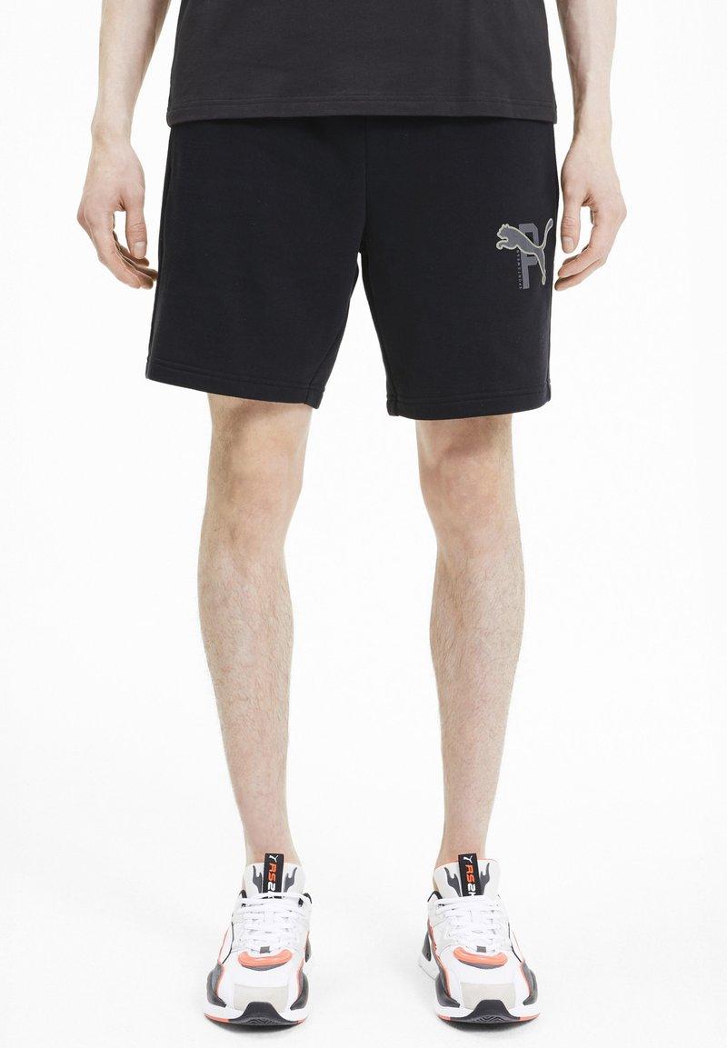 Puma - ATHLETICS  - Shorts - black