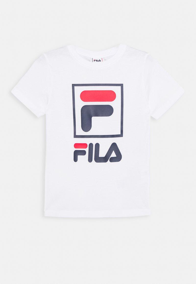 Fila - TOAM - T-shirt imprimé - bright white