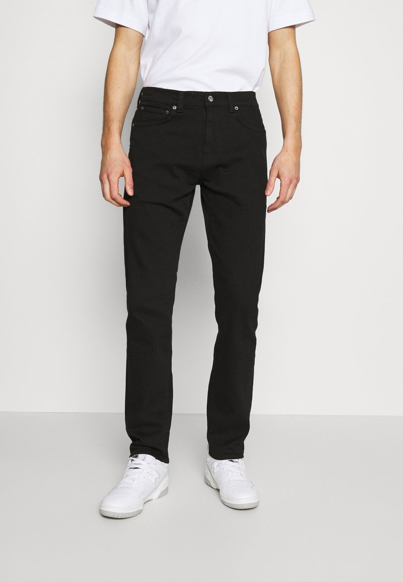 Edwin - TAPERED - Jeans Tapered Fit - black denim