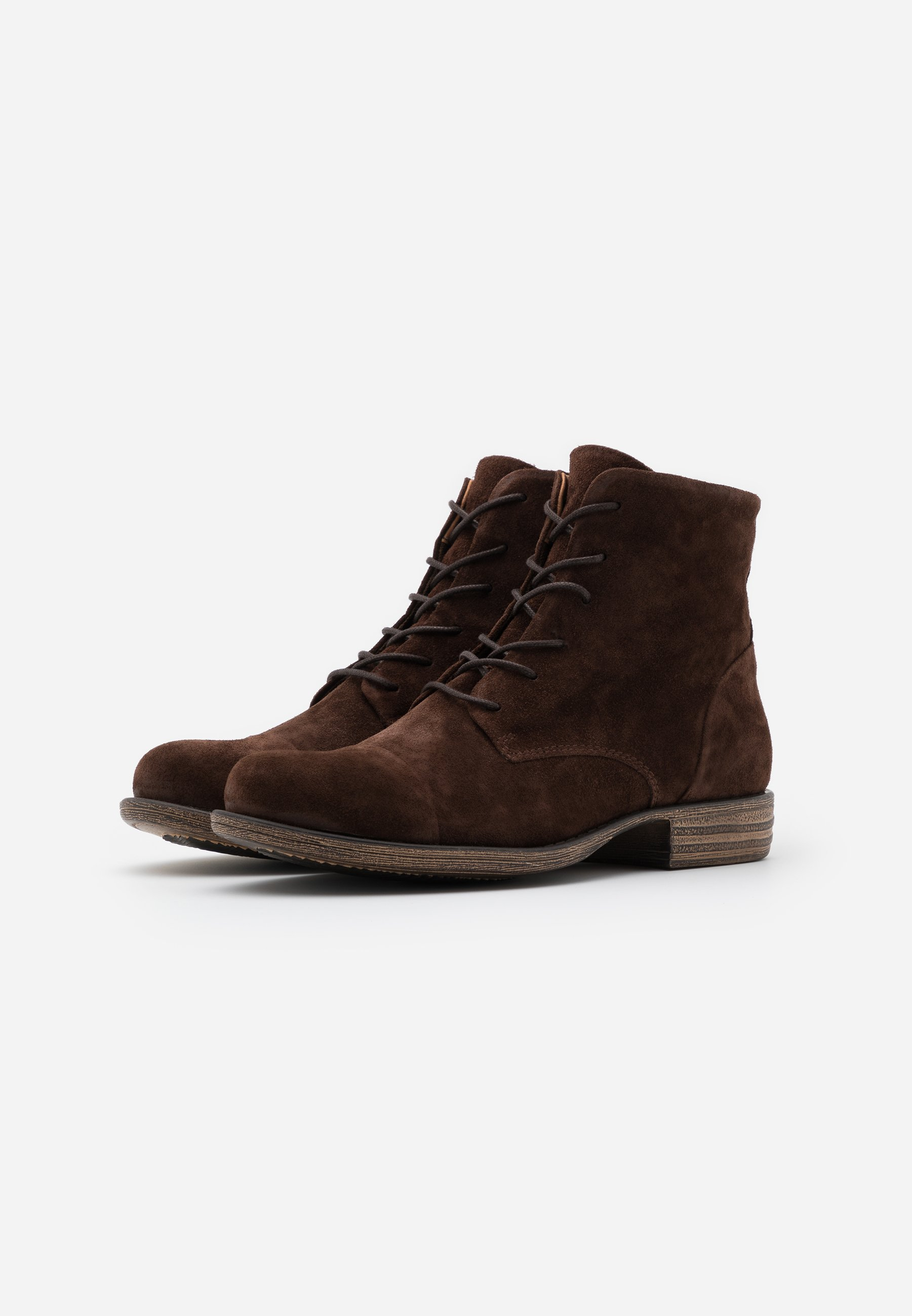 Anna Field LEATHER  Ankle Boot brown/braun