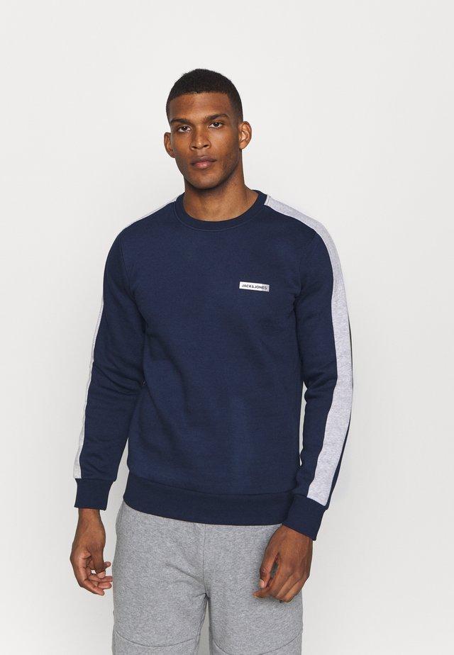 JCOZ SPORT CREW NECK - Sweatshirt - navy blazer