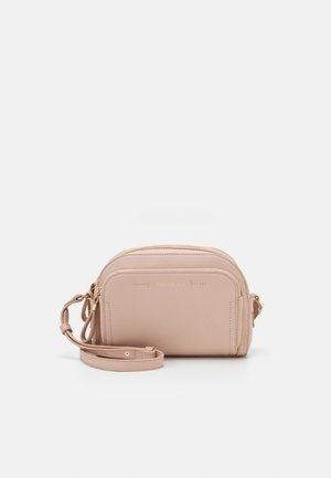 LISA FRONT POCKET CROSSBODY BAG - Across body bag - pink