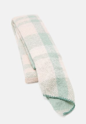 Sjaal - green/pink/off-white
