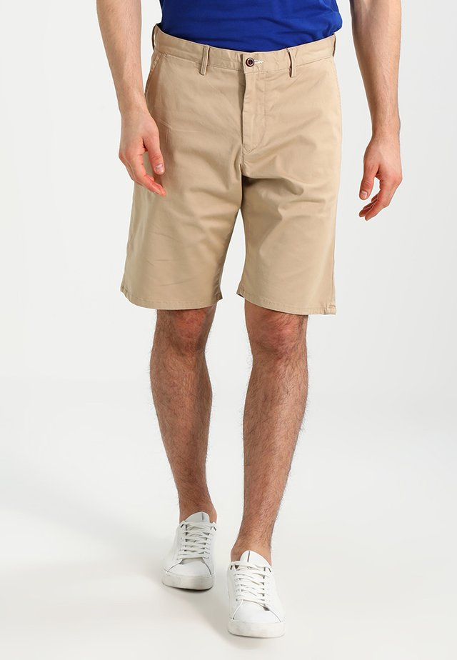 RELAXED - Shorts - dark khaki