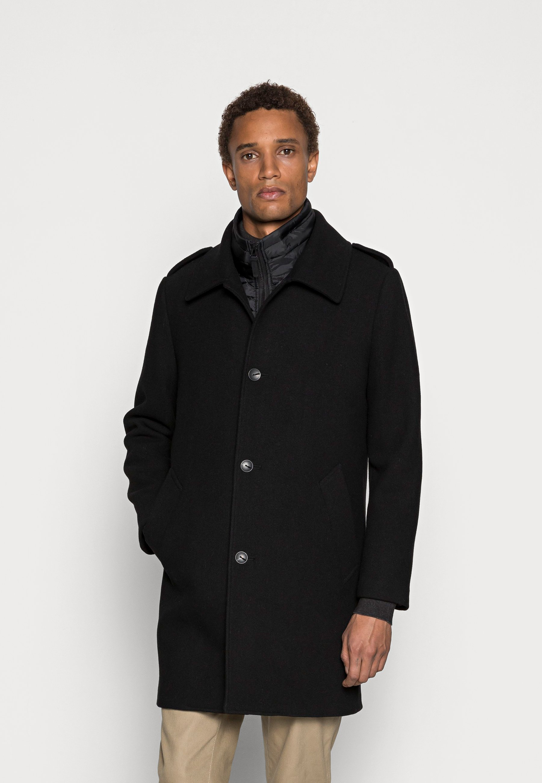 Homme COAT CLINT SLIM FIT WITH DETACHABLE - Manteau classique