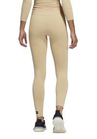 adidas Performance - SCULPT  - Legging - beige - 1
