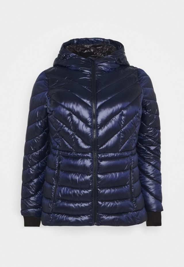 ZIP FRONT - Winter jacket - true navy