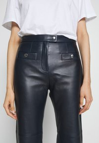 Coach - PANT - Leather trousers - navy - 6