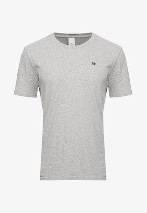 Jednoduché triko - grey melange