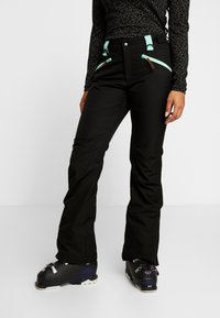 OOSC - WOMENS PANT - Snow pants - black - 0