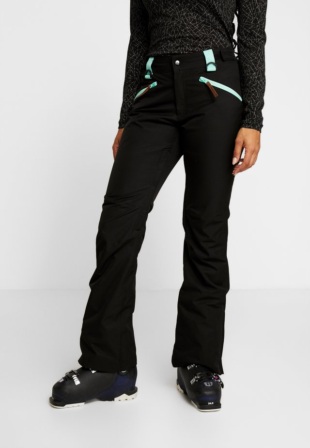 WOMENS PANT - Pantalon de ski - black