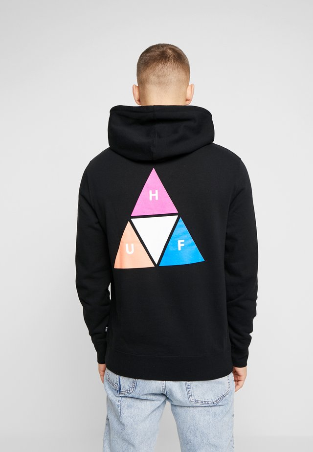 PRISM HOODIE - Jersey con capucha - black