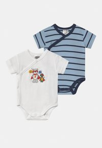 Jacky Baby - KURZARM BOYS 2 PACK - Body - blue/white - 0
