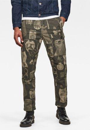 TORRICK  - Pantaloni cargo - dk shamrock mono objects